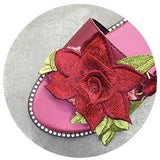 Embroidery Rose Slipper