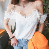 Hilde Lace Top