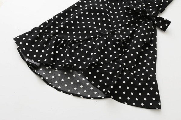 Elyse Polka Dot Dress