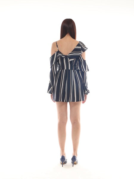 Ethel Stripe Playsuit (Size M)