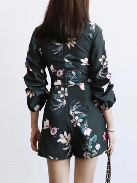 Trudy Floral Playsuit