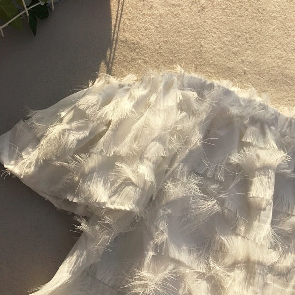 Tobi Feathery Top