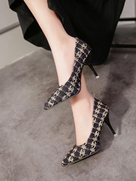 Fellis Tweed Heels