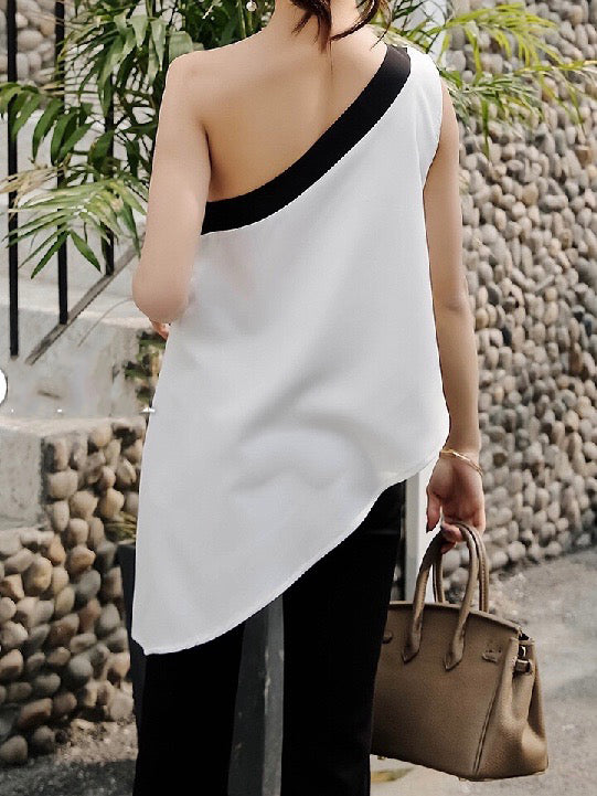 Addie One-Shoulder Top