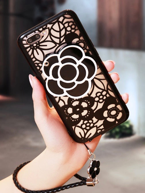Edith Flower Phone Case (iPhone)