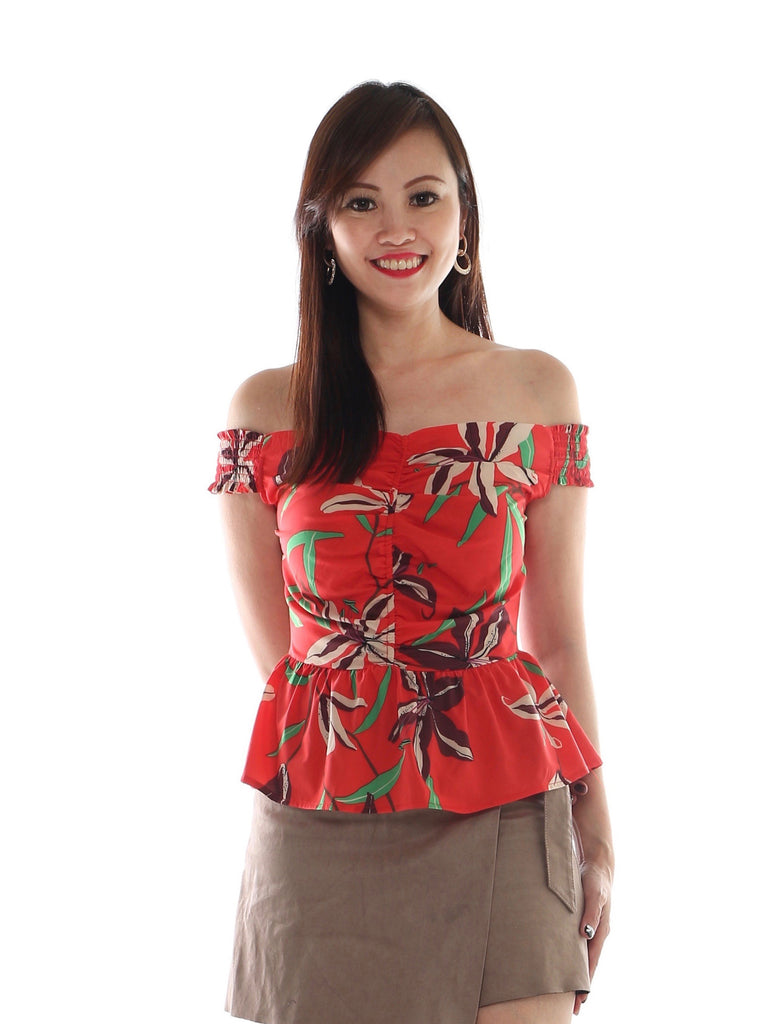 Fayme Tropical Top (Size M)