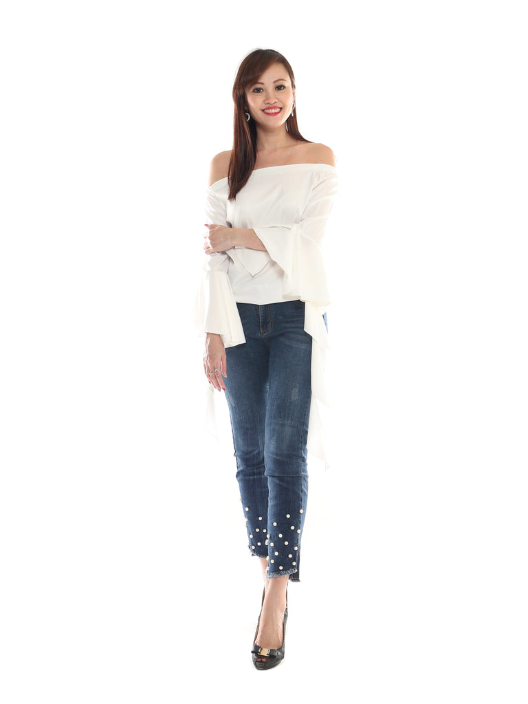 Seville Off-Shoulder Top