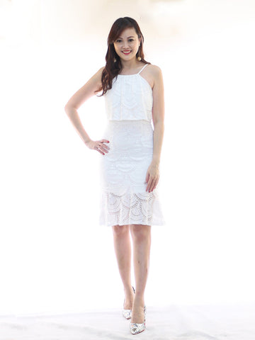 Alyssa Ruffles Dress