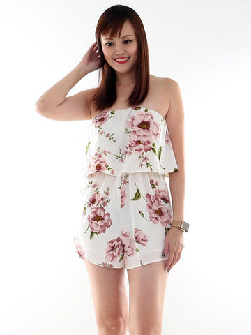 Heather Floral Playsuit