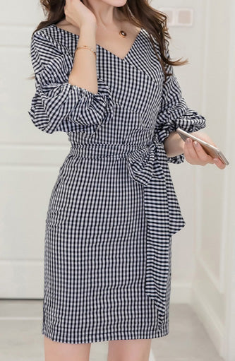 Ayden Poffy sleeves Dress