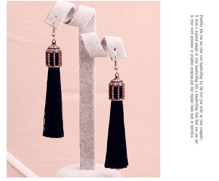 Bebe Tassel earrings