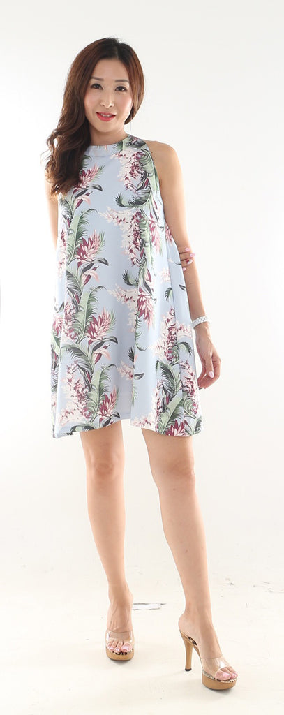 Byoi Floral Flare dress