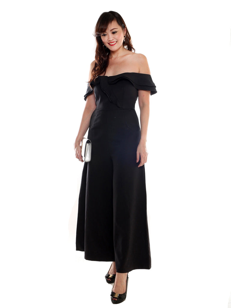 Charssis Off shoulder Jumpsuit