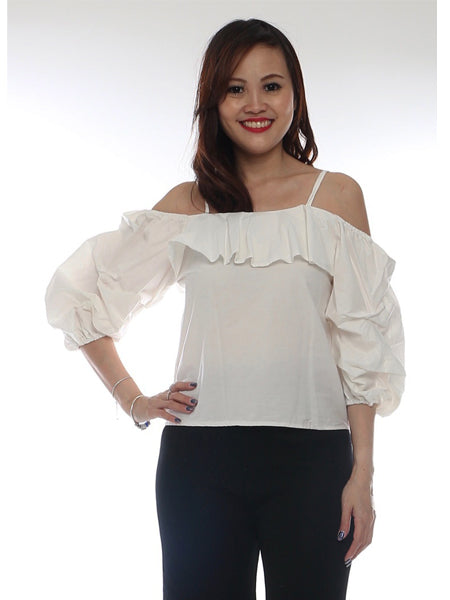 Doycati Puff sleeve top (6 colors)