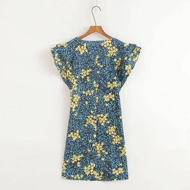 Fedel Print Shift dress