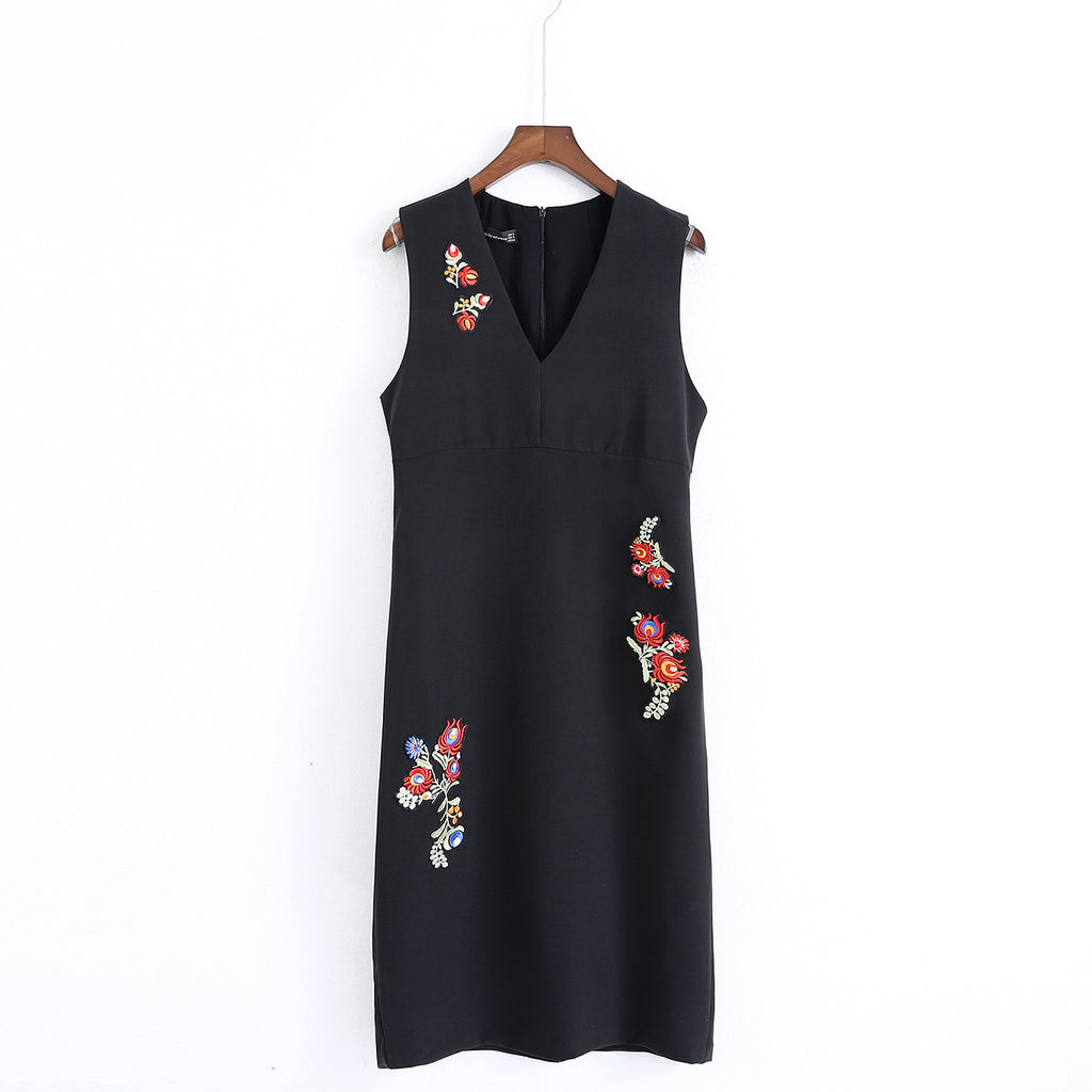 Fendal embroidery work dress