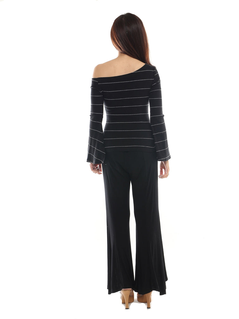 Francis off shoulder bell sleeve top
