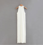 Galicio Knit Long Maxi Dress