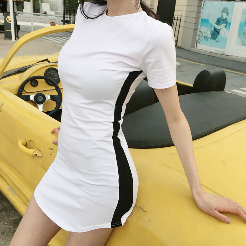 Meg Tee shirt dress