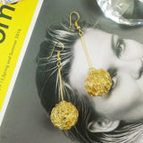 Dione Gold Ball earrings