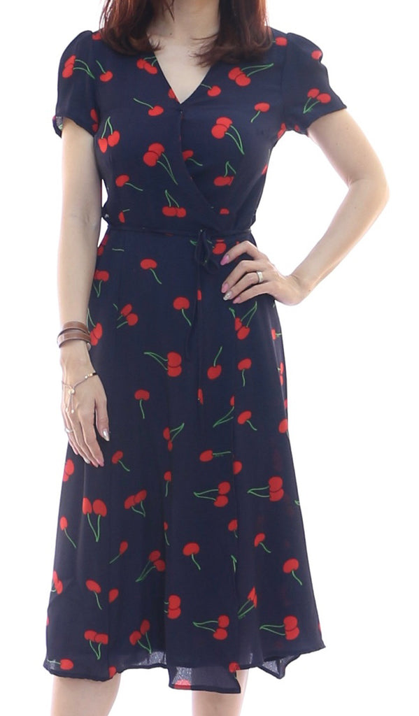 Parafy Wrap Midi Dress