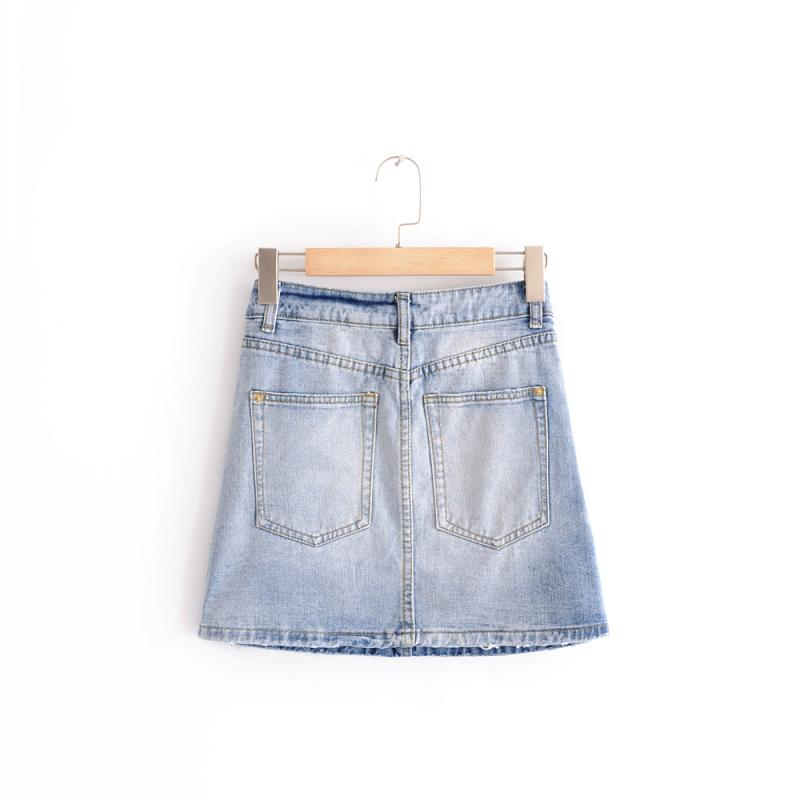 Pedalo Denim Skirt