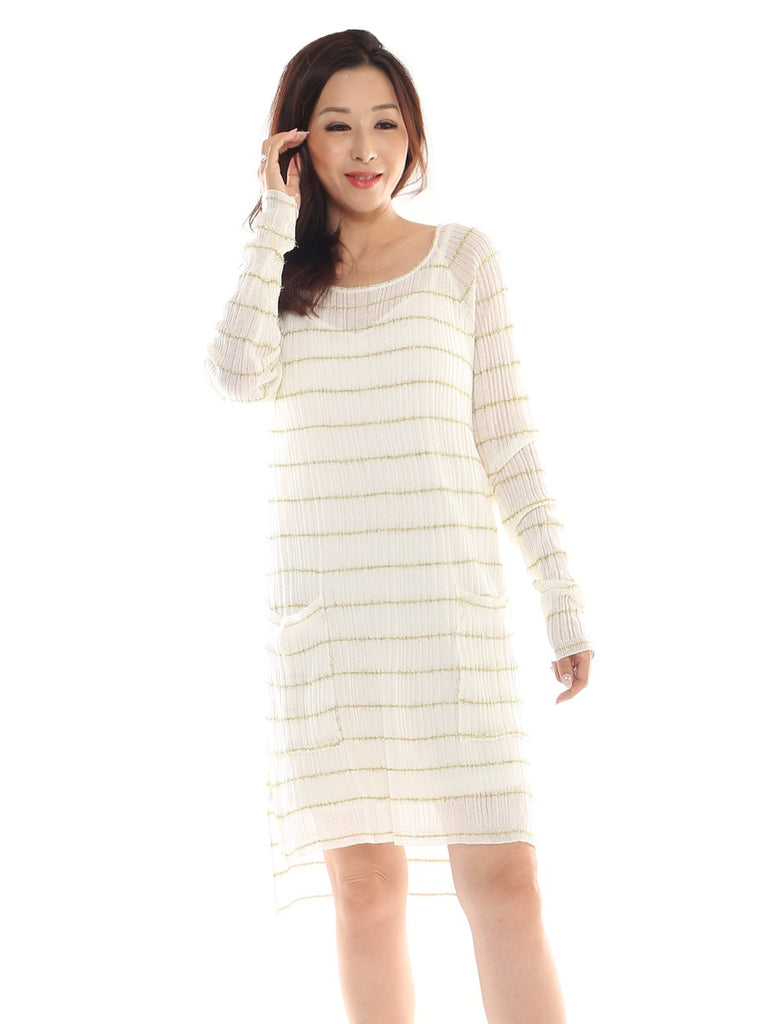 Risel Gold Stripe Tunic