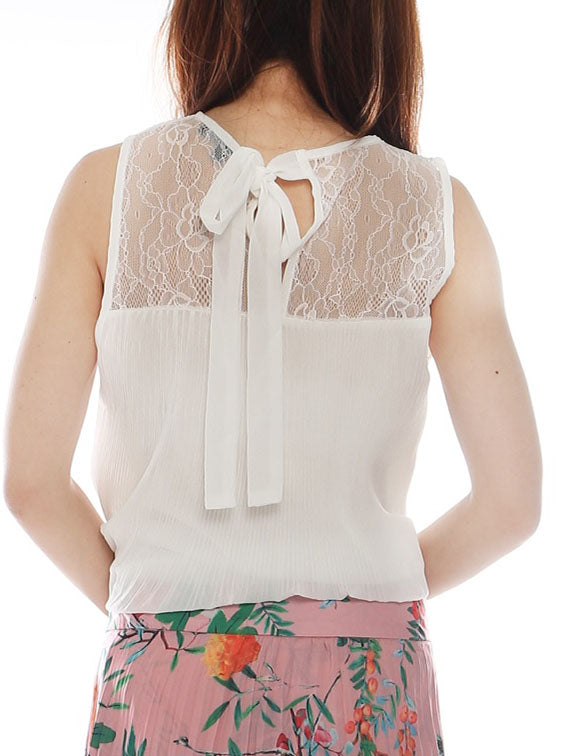 Yoile Chiffon Pleats top