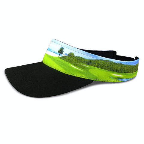Golf Visor - Ocean Front Golf Course Design