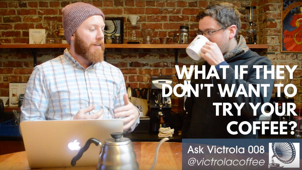 How Do You Convince Someone to Drink Good Coffee?