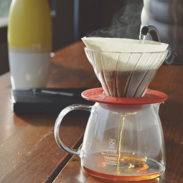 Hario V60 Glass Dripper & Pot CLAIR