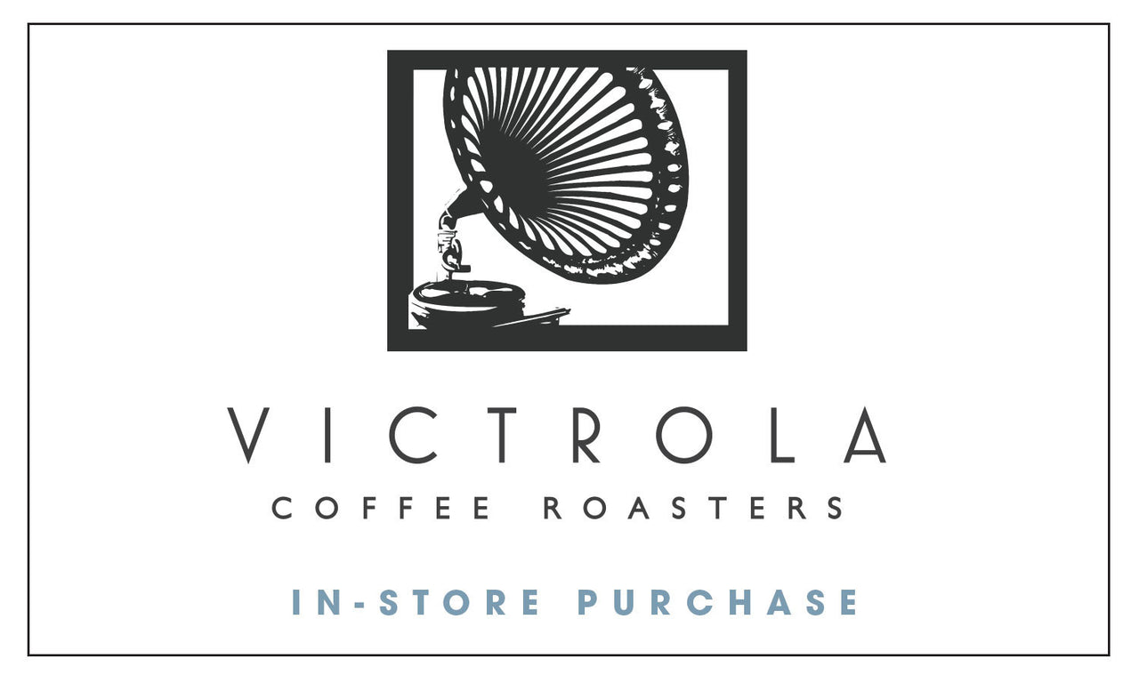 Victrola Coffee IN STORE ONLY Gift Card