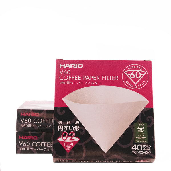 Hario V60 Filters (40 Pack)
