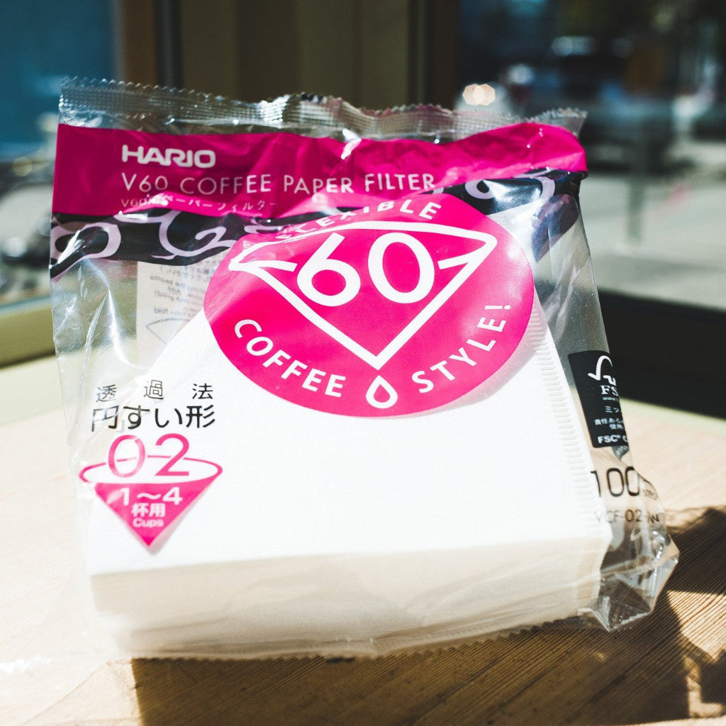 Hario V60 Filters (100 Pack)