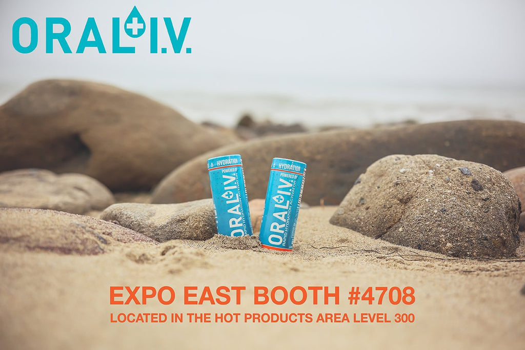 ORAL I.V's RTD All Natural 2oz Hydration Shot is Ready to Rock Expo East.