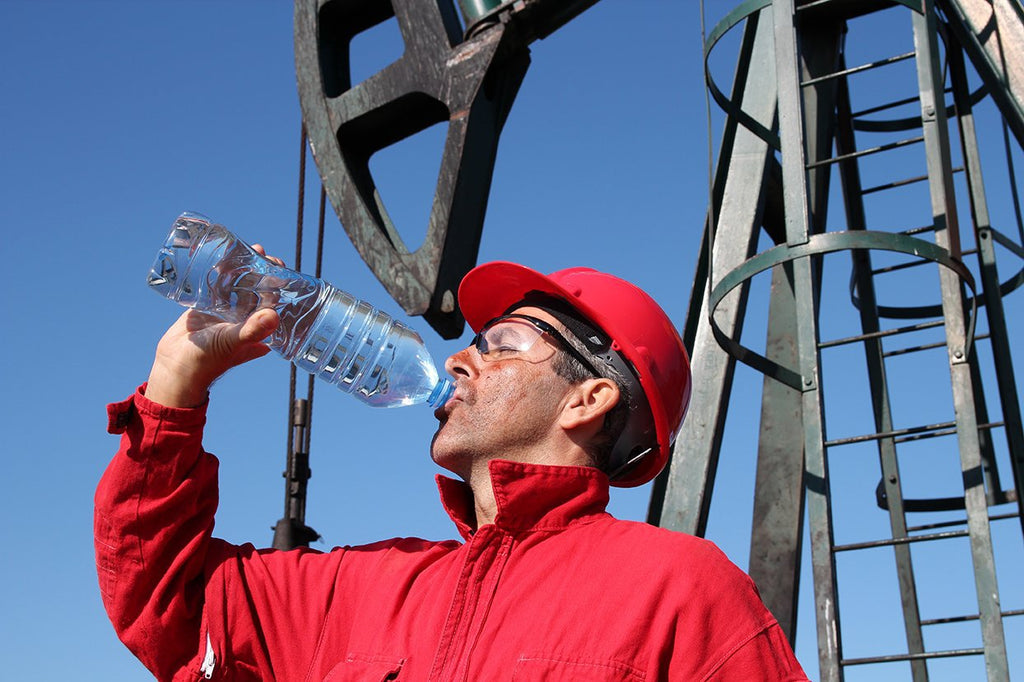 Tips for Working in the Summer Heat to avoid Dehydration