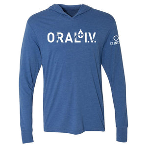 Open image in slideshow, ORAL I.V. Logo T-shirt Hoodie