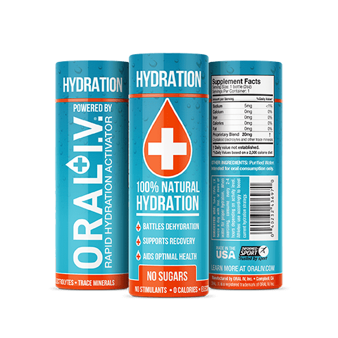 ORAL I.V. 2 oz. Hydration Shot - 3 pack