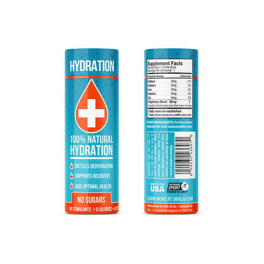 ORAL I.V. 2 oz. Daily Hydration Shot - 2 pack