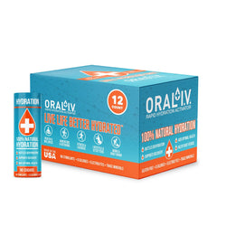 ORAL I.V. 2 oz. Daily Hydration Shot - 12 pack