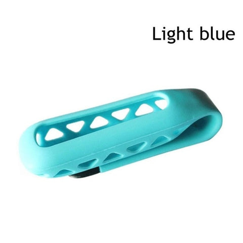 2018 New Colorful Silicone Rubber Holder  Replacement Cover  Clip  Case Belt Holder Case Cover for Fitbit One Smart Tracker
