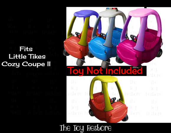 Fits Little Tikes Cozy Coupe II