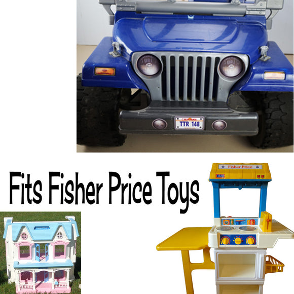 Fits Fisher Price