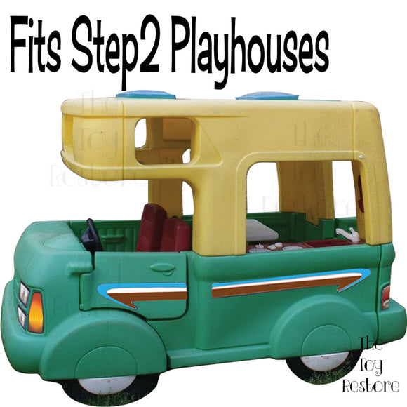 Fits Step2 Playhouses