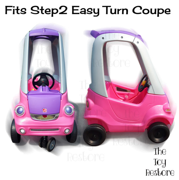 Fits Step2 Easy Turn Coupe