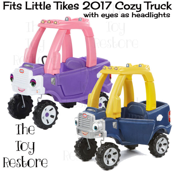Fits Little Tikes Truck with Eyes as Headlights