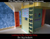 Replacement Decals Fits Vintage Playskool Victorian Dollhouse