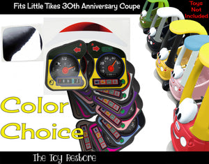 Spare Decals Replacement Stickers fits 30th Anniversary Little Tikes Custom Cozy Coupe Car