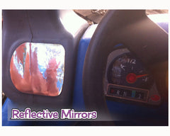 Minivan Replacement Stickers fits Little Tikes Custom Cozy Coupe Woody Wood Panel Van