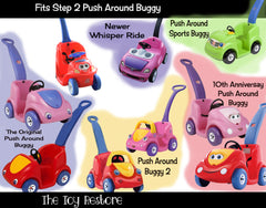 Decals Replacement Sticker Fits Step2 Original Push Around Buggy Ride-on Car Toy Girl